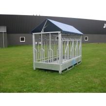 Lille Bjørn - Foderhæk/foderbord med kirkestole eller fangitter
