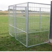 Standard sektion til hundegård - hundeløbegård