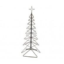 Bemærk billedet viser både mellem juletræ 217 cm og lille juletræ 131 cm