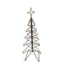 Galvaniseret Lille Juletræ 131 cm