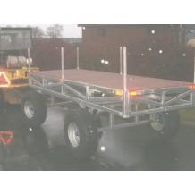 SPECIAL FREMSTILLET galvaniseret truck trailer