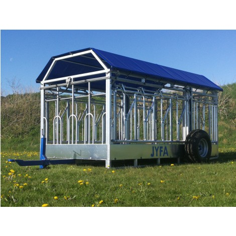 4M Combi Trailer With Hydraulic