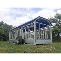 6M Combi Trailer With Hydraulic