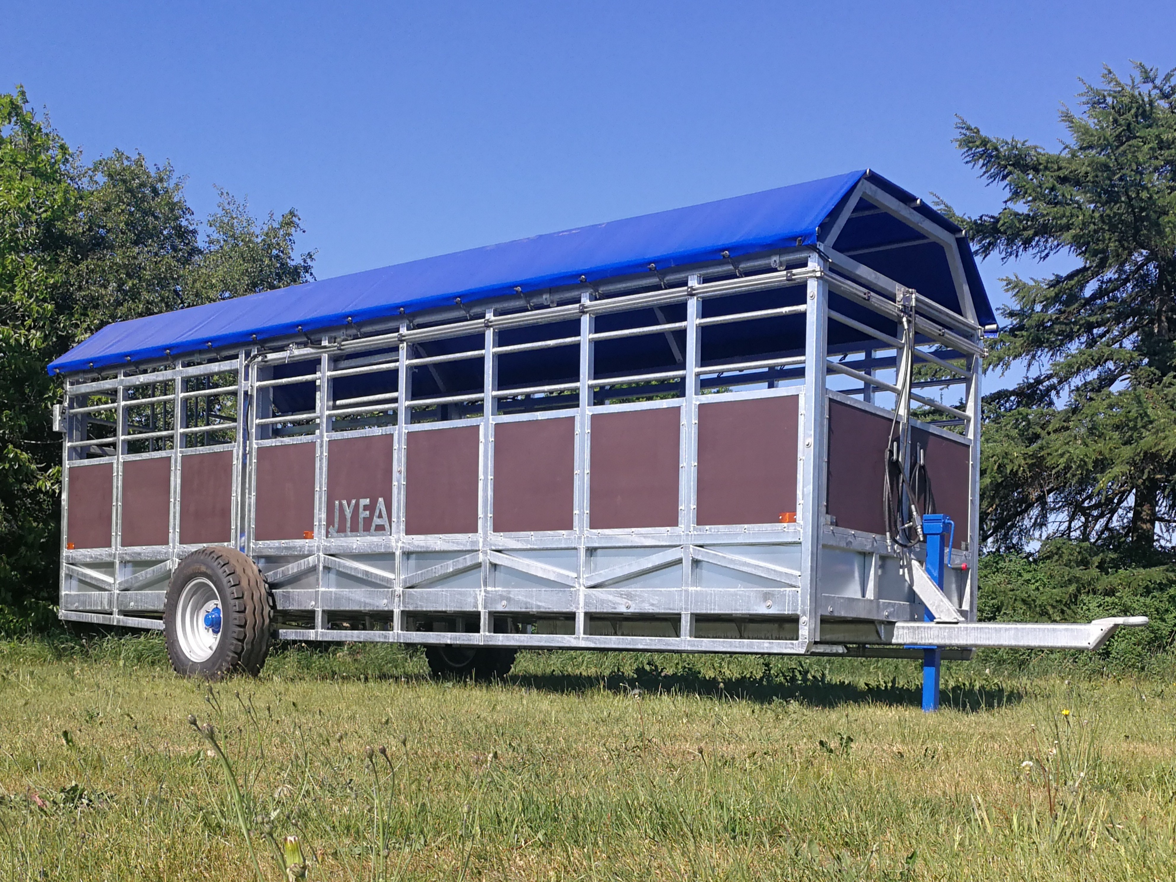 dyretransportvogn til kvæg