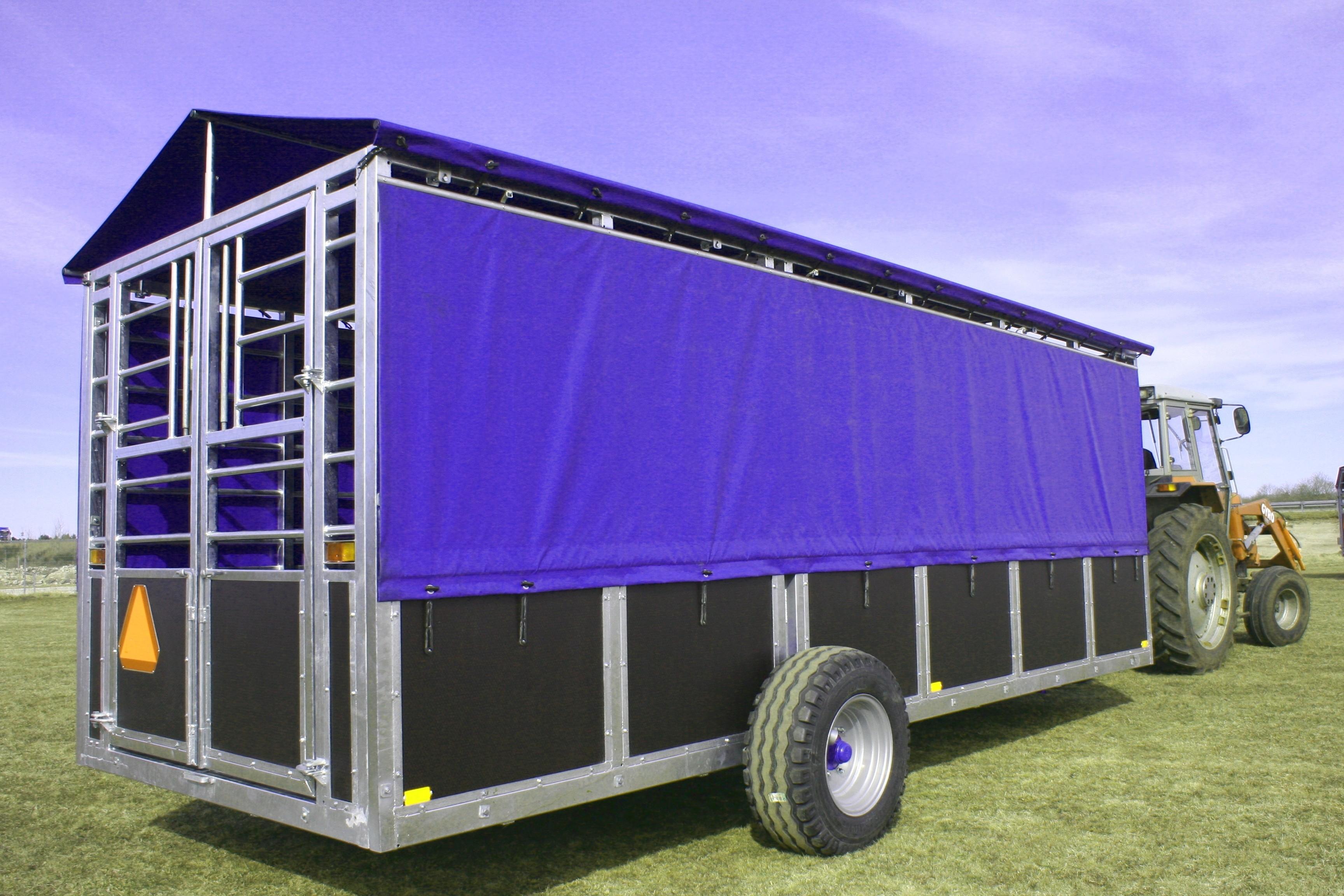 7M Hydraulikvogn - grisetransportvogn