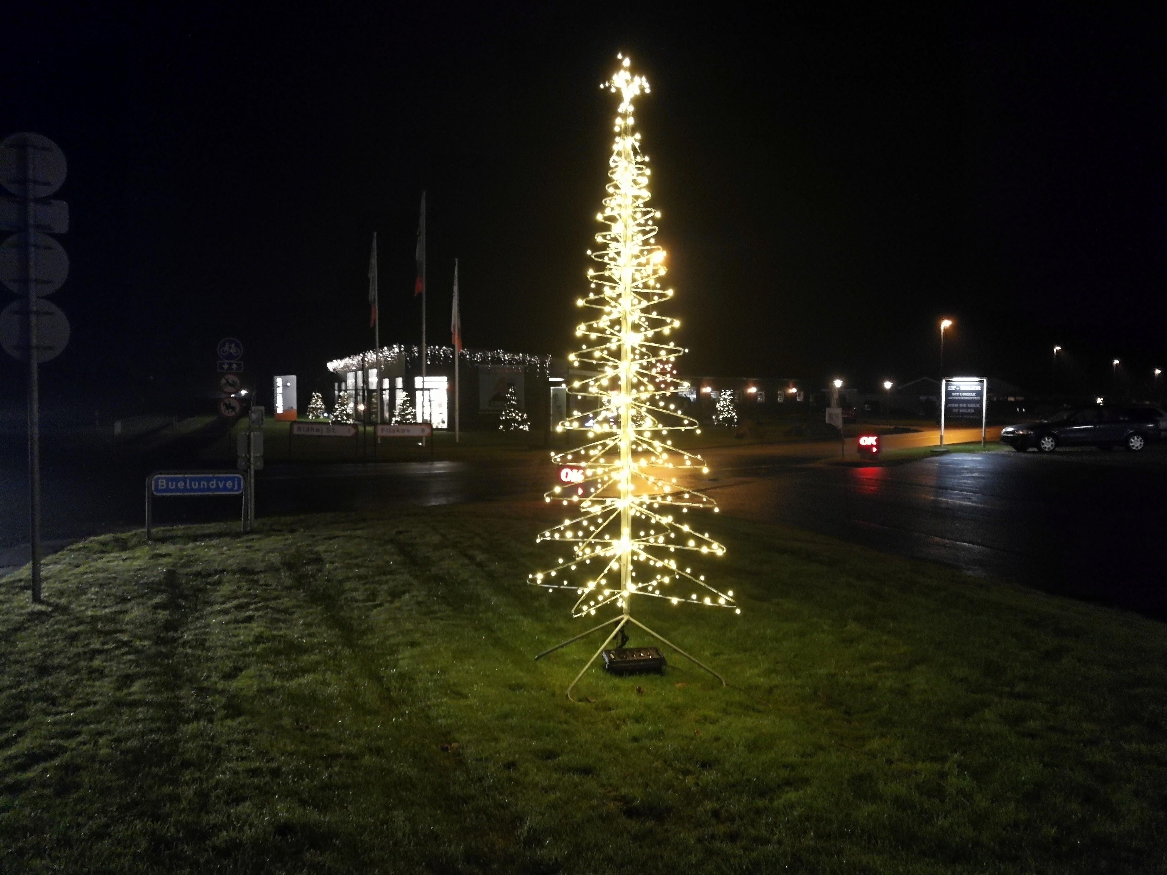kæmpe juletræ