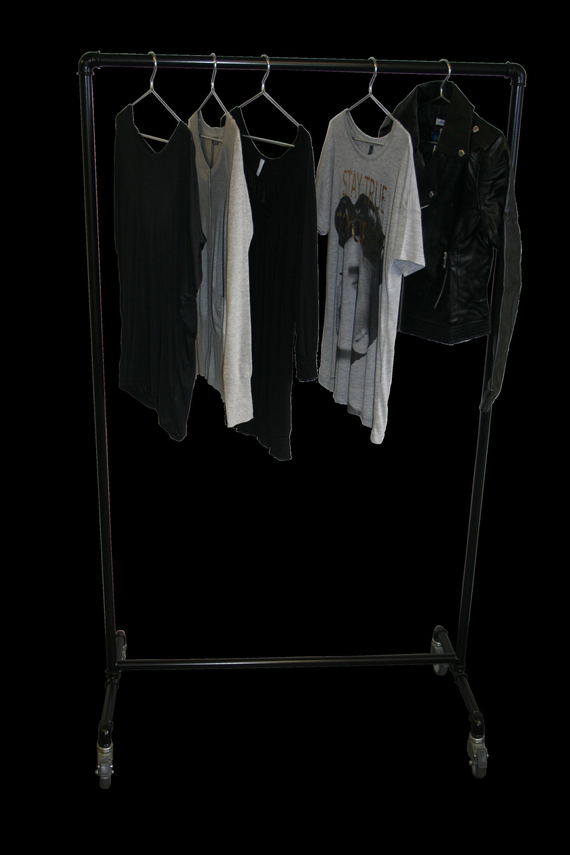 Alvorlig Tøjstativ på hjul - Køb dit nye tøjstativ her. Kan bestilles i MW68