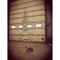Juletræ 217 cm klar til brug