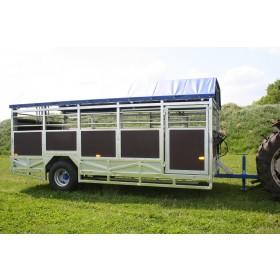 5M Bred Transportvogn