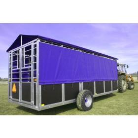 6M Hydraulikvogn - grisetransportvogn