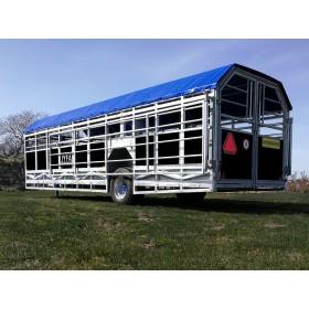 8M Bred Transportvogn
